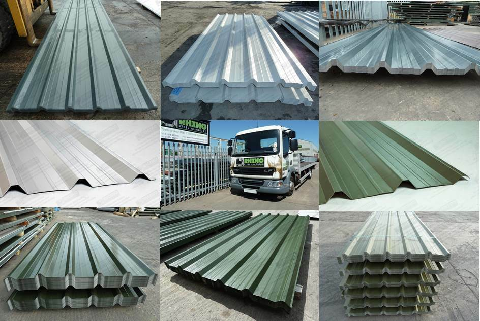 Very Cheap Packs Of Box Profile 32 1000 Roofing Sheets