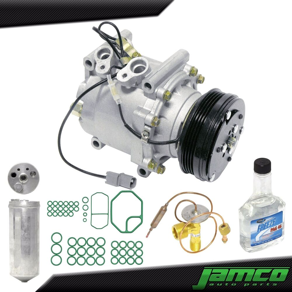 New Complete AC Compressor Kit With Clutch For A/C 96-00