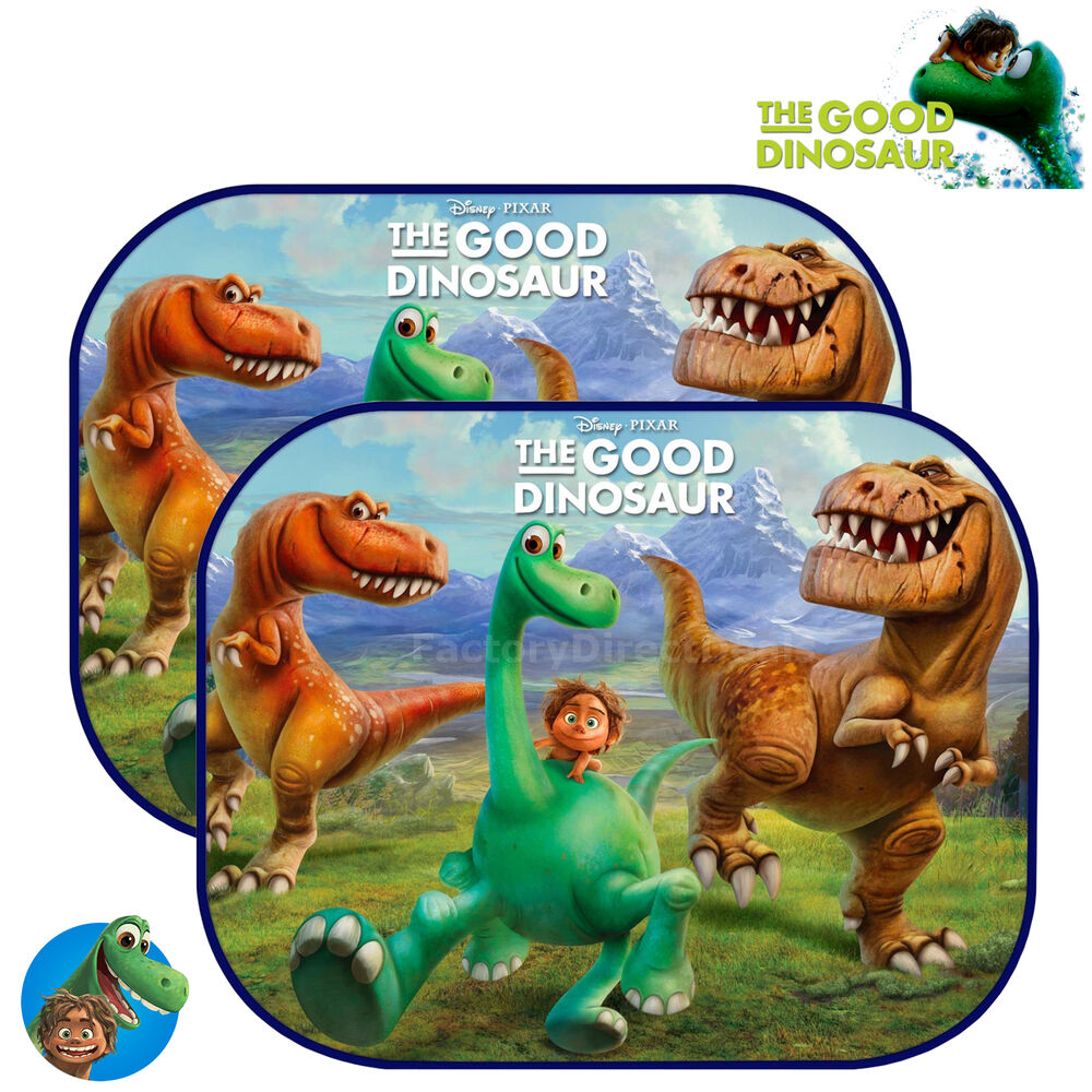 2x disney pixar dinosaur kids baby children car window sun shades uv visor ebay
