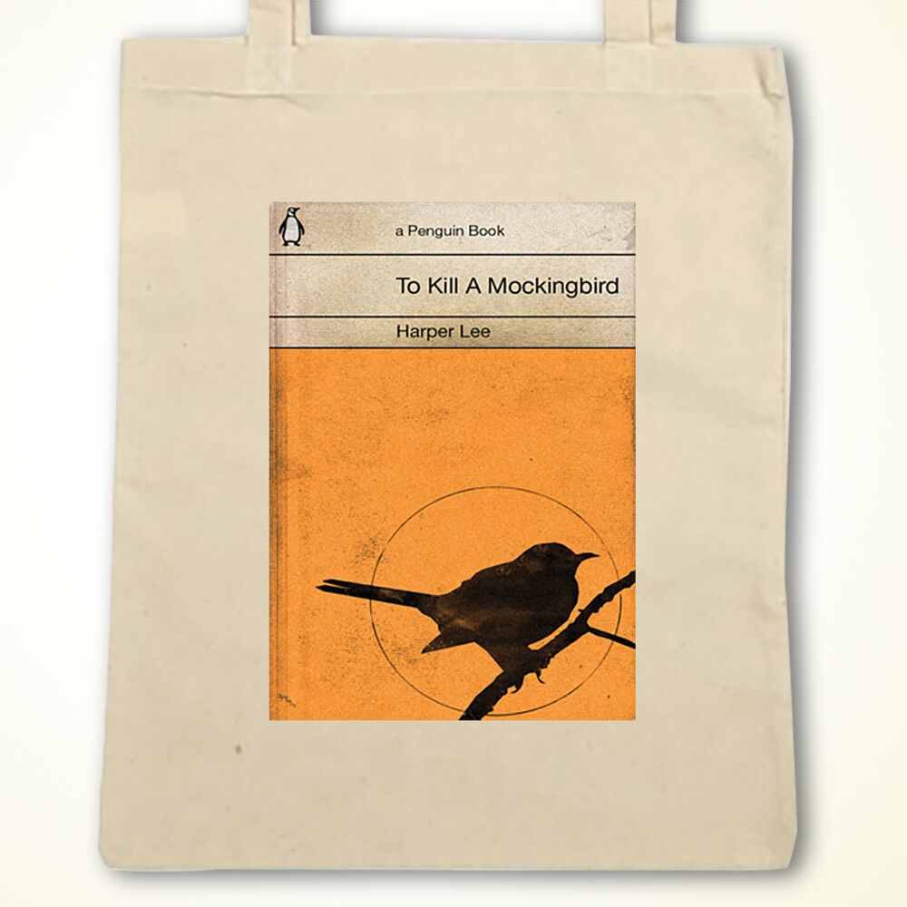 Penguin Book Back Cover : Vintage penguin to kill a mocking bird book cover eco