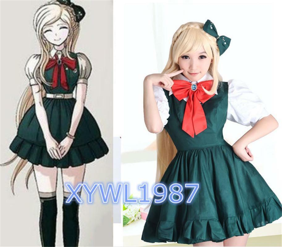 Super Dangan Ronpa2 Sonia Nevermind Cosplay Costume Dark ...