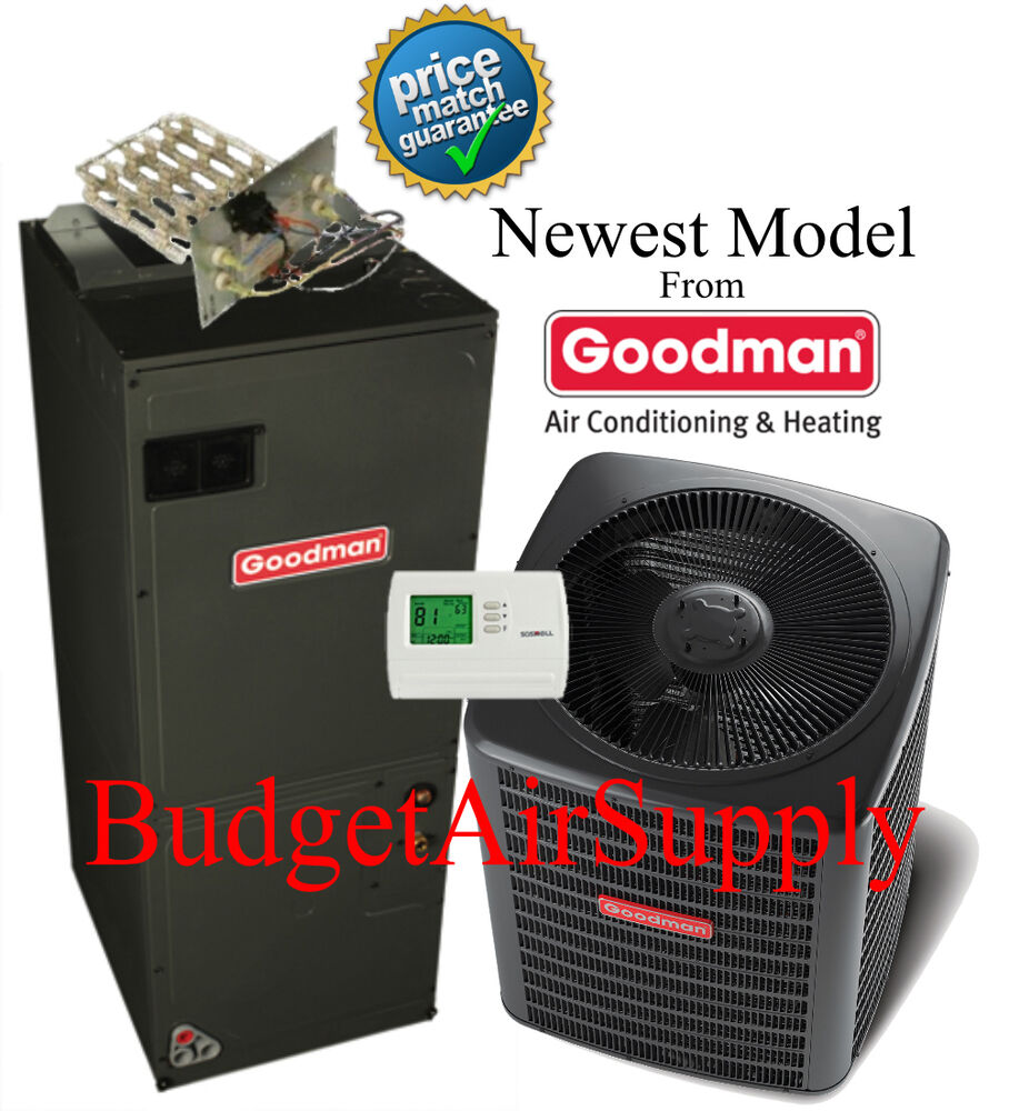 3 5 ton 14 seer goodman heat pump system gsz140421. Black Bedroom Furniture Sets. Home Design Ideas