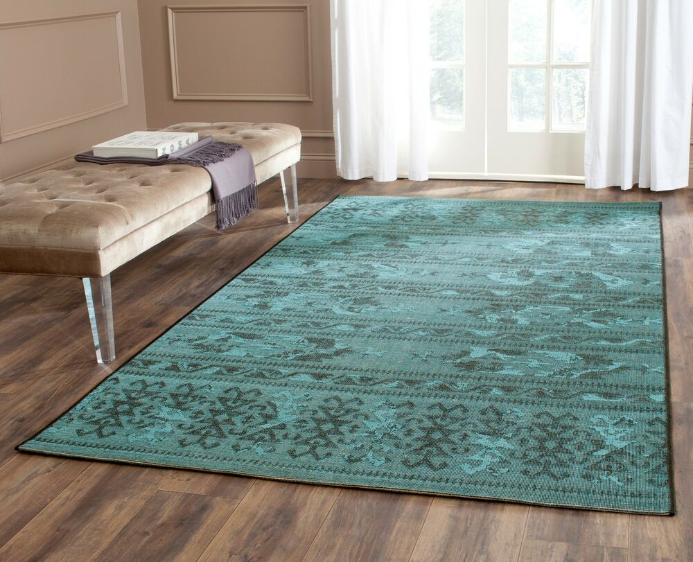turquoise rug living room black turquoise safavieh power loomed palazzo area rugs 13046