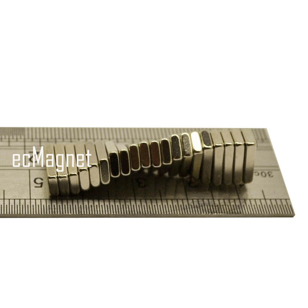 12mm x 7mm x 1mm diy metal project strong thin neodymium for Thin magnets for crafts