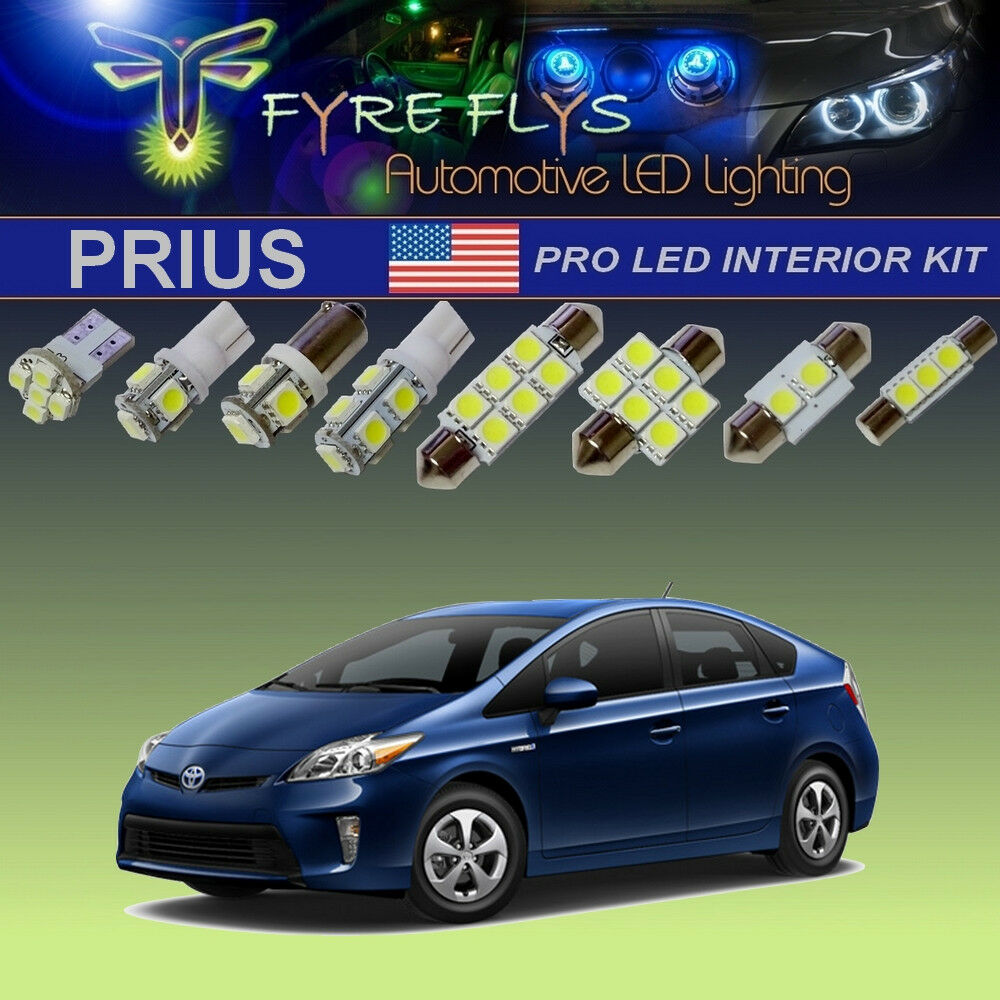 2005 Prius Led Light Kit Free Download Wiring Diagrams Reece Harness Toyota 14 Pcs Xenon White Lights Package Interior Exterior Pro For Ebay At