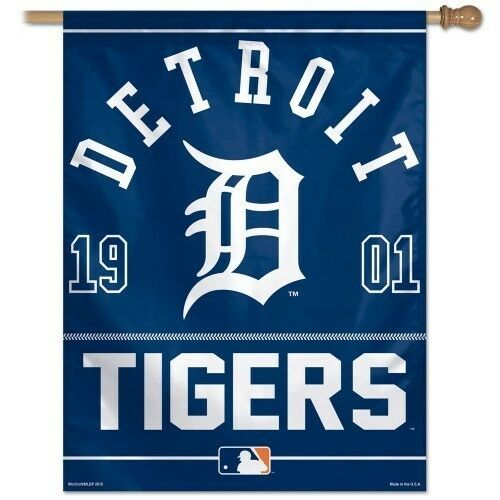 DETROIT TIGERS ~ Official MLB Outdoor House Flag Banner ...