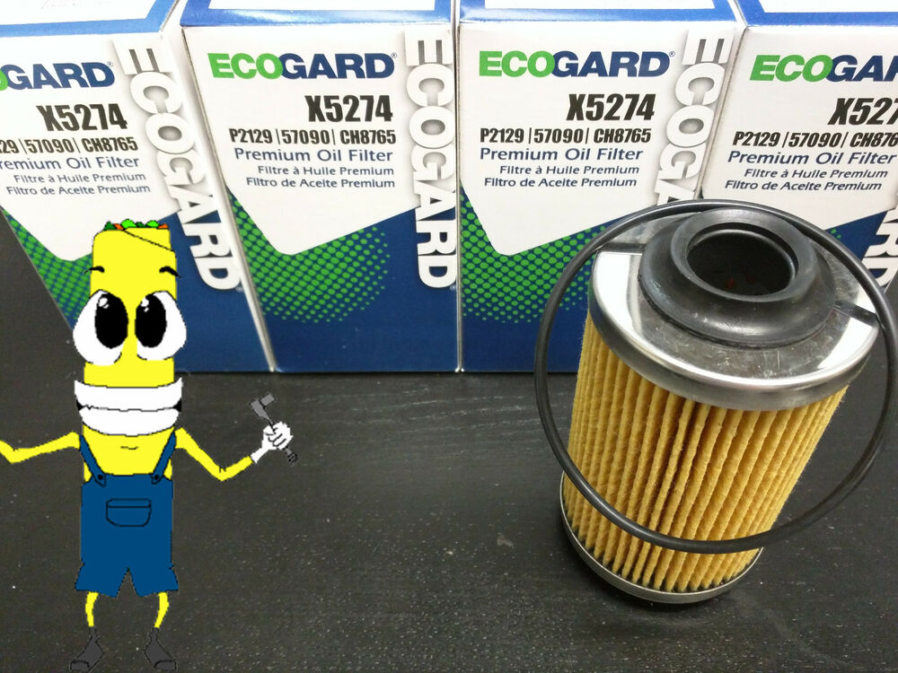 Premium Oil Filter For Cadillac Chevrolet With V6 Engine