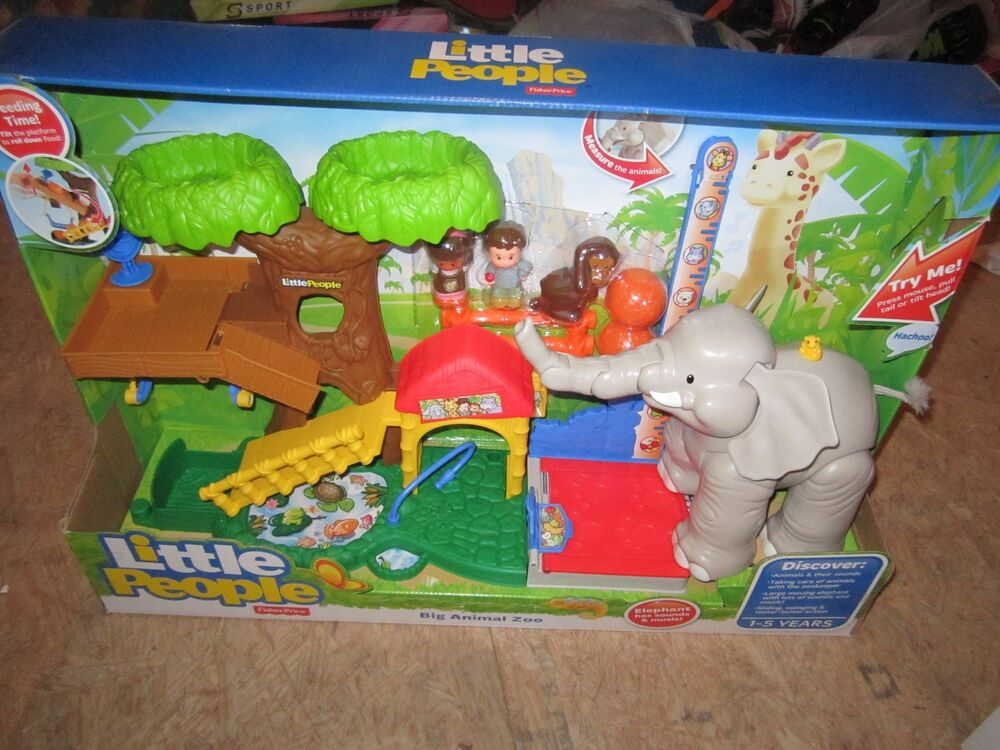 Fisher Price Little People New Zoo Animal Sounds Big
