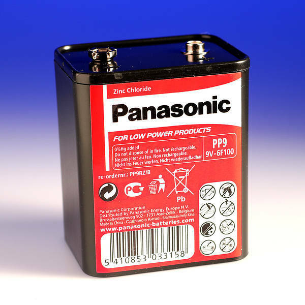 panasonic pp9 9 volt 9v battery roberts radio ebay. Black Bedroom Furniture Sets. Home Design Ideas