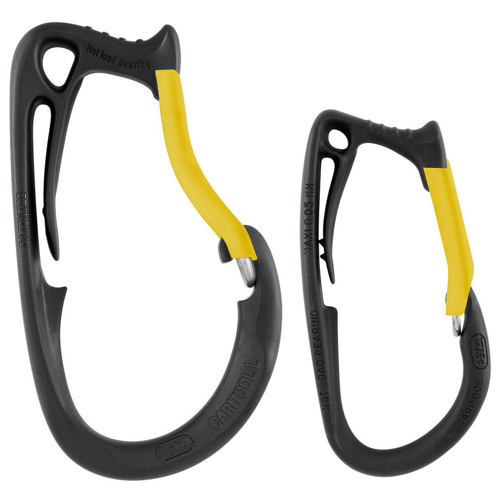Petzl Caritool Tool Holder Accessory Belt Climbing Harness Clip Small or Large
