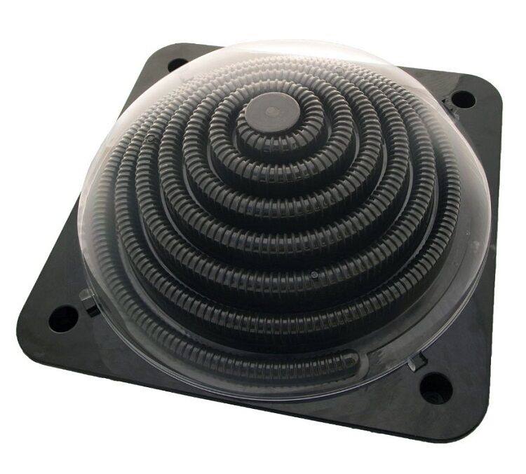 Solar Swimming Pool Heater Dome Above Ground Panel For Intex Soft Side Coil Ebay