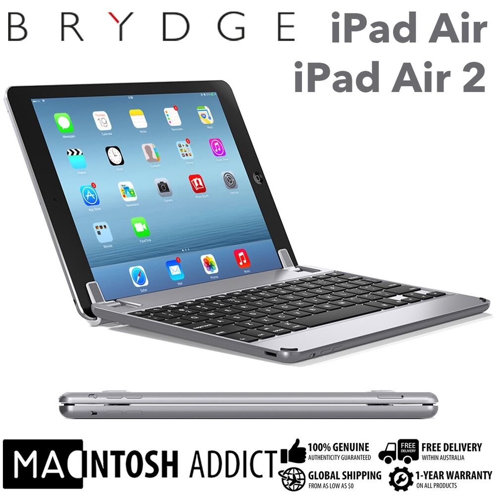 brydge brydge9 7 aluminium keyboard cover case for ipad. Black Bedroom Furniture Sets. Home Design Ideas