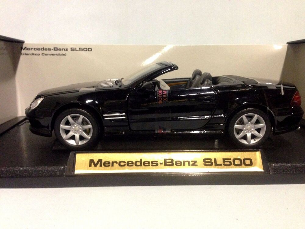 2003 Mercedes Benz Sl500 Collectibles 1 18 Scale Diecast