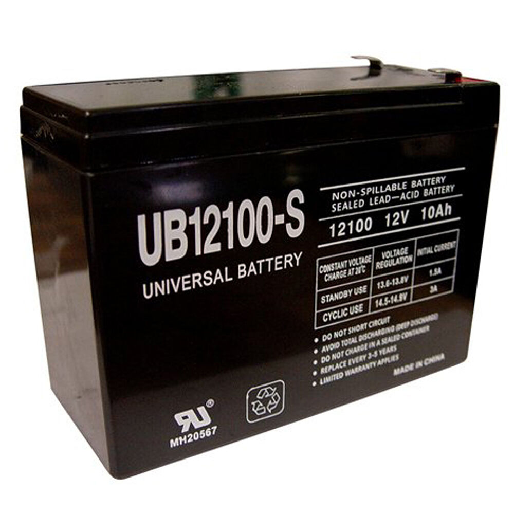 new 12v 10ah electric scooter battery highest amp ebay. Black Bedroom Furniture Sets. Home Design Ideas