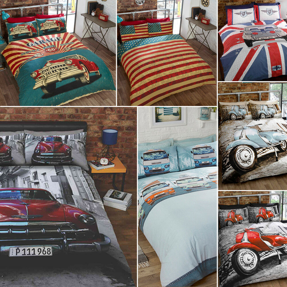 Route  Bedding Set By Retro Home