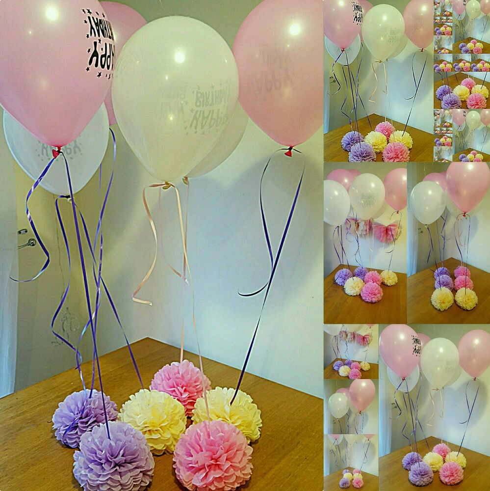 Helium balloon weights wedding girls birthday party baby for Baby birthday decoration items