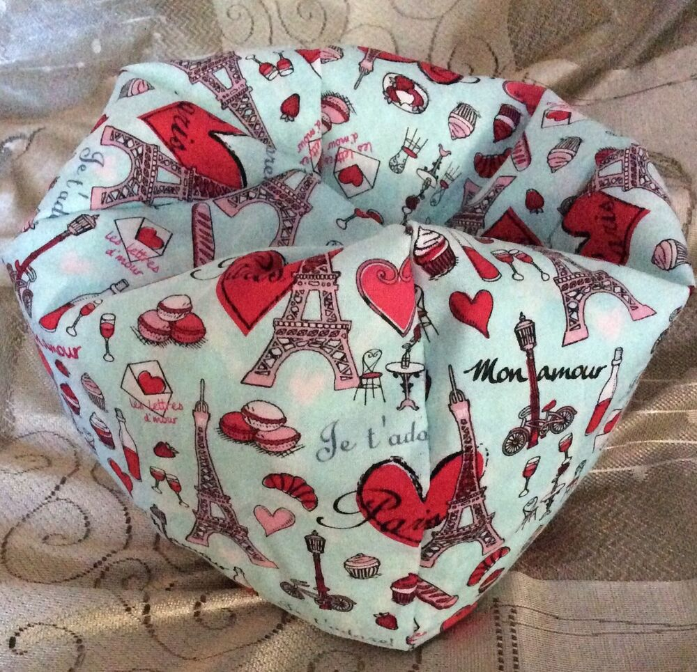 Paris French Love🎇made To Fit American Girl Doll Bean Bag