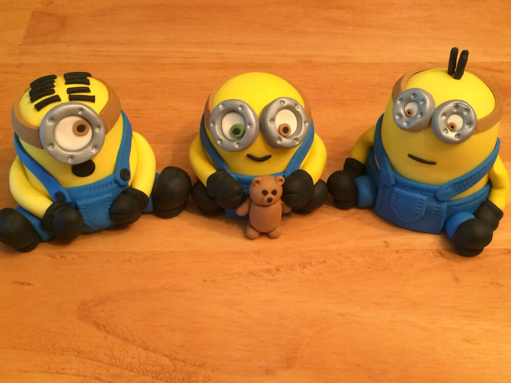 Despicable Me  Cake Toppers