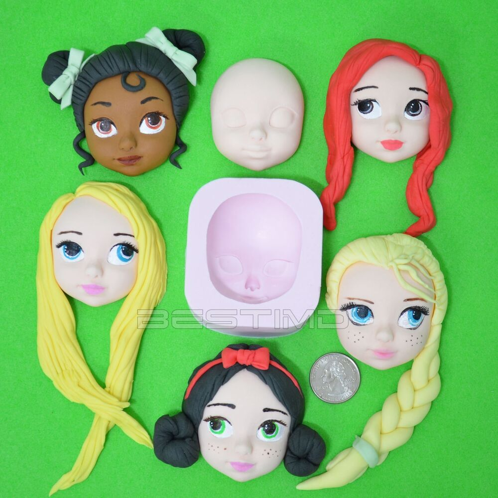 how to make doll cake with clay