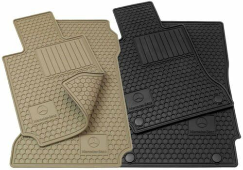 mercedes benz glk all season black floor mats x204 glk
