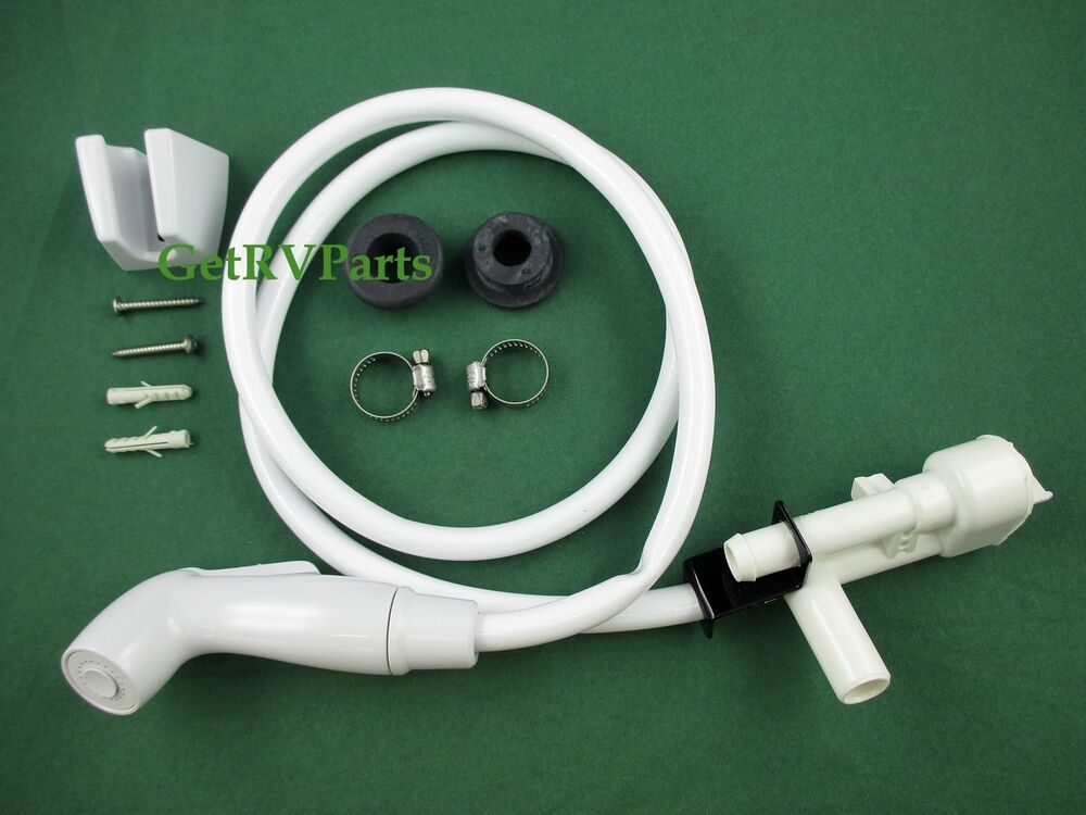 dometic sealand 385319054 toilet vacuum breaker with spray kit ebay