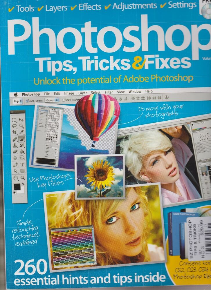 PHOTOSHOP TIPS, TRICKS & FIXES BOOK MAGAZINE No.3, WITH