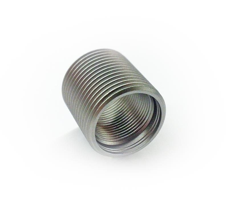 Precision armament shoulderless thread adapter to