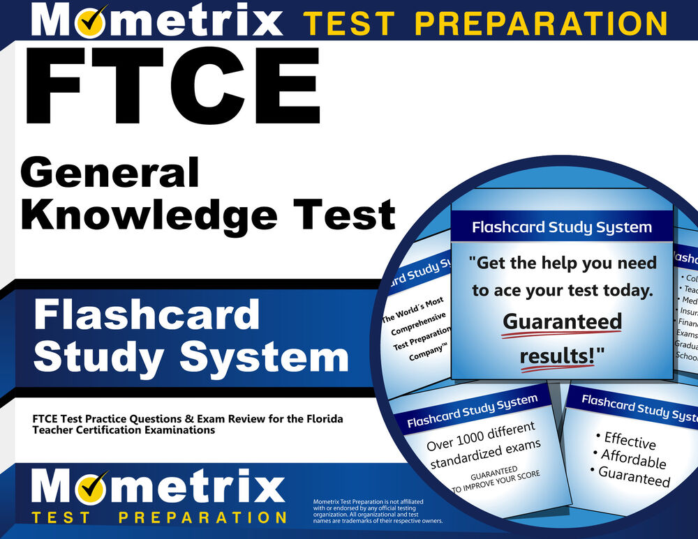 FTCE General Knowledge Test Prep Study Guide: Exam Prep ...