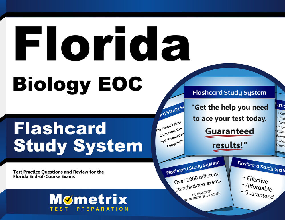 Florida Biology Eoc Flashcard Study System 1630940674