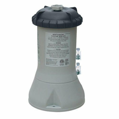 Intex 1000 Gallon Filter Pump Swimming Pool Spa Pond Swim Soak For Clear Water Ebay