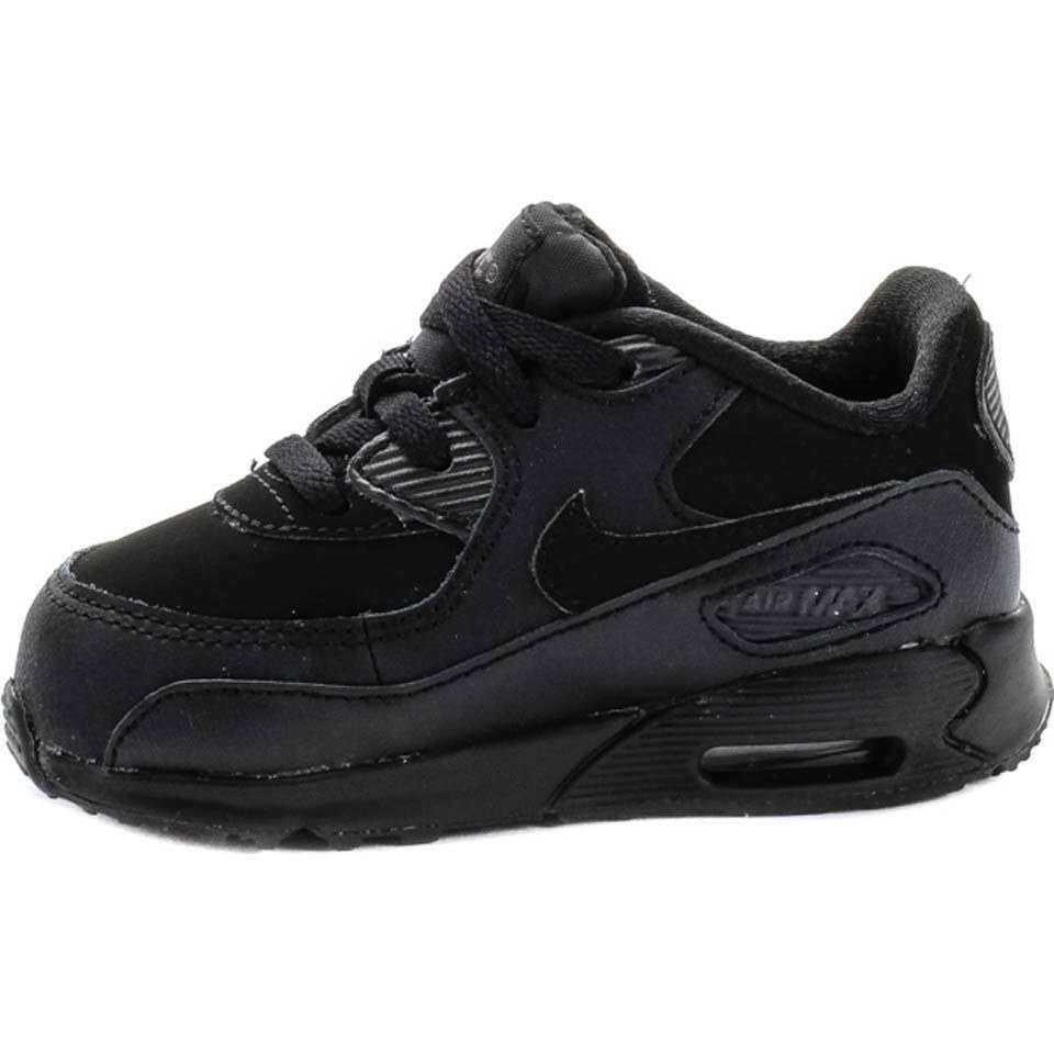 nike toddlers td air max 90 all black walking