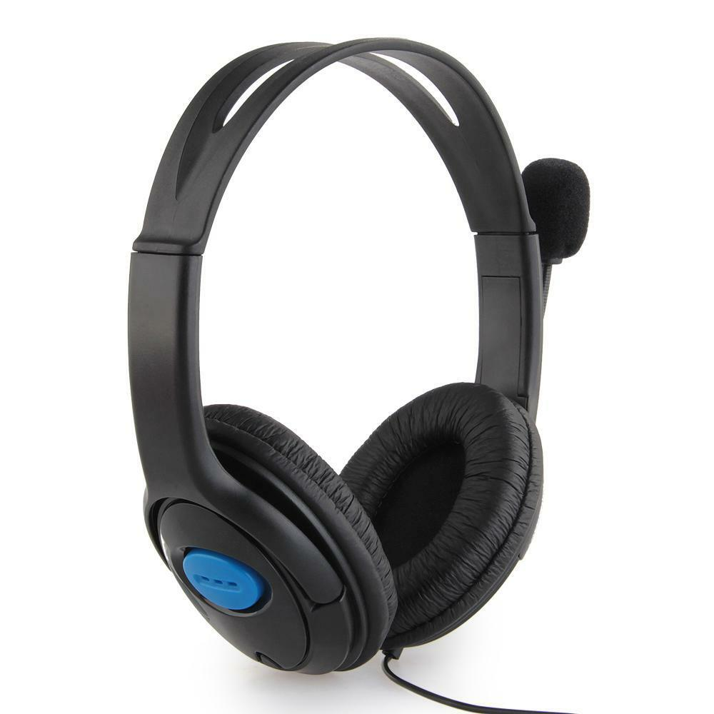 Wired Headset Headphone Game Headsets + Mic Video Games Accessories for PS4 | eBay