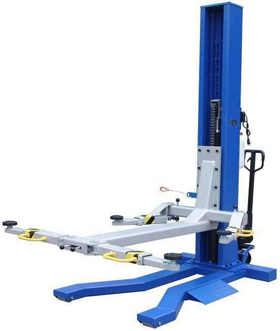 10000 Lb Car Lift >> Tuxedo MSC-6KLP 6,000 lb. capacity Mobile Single Column ...