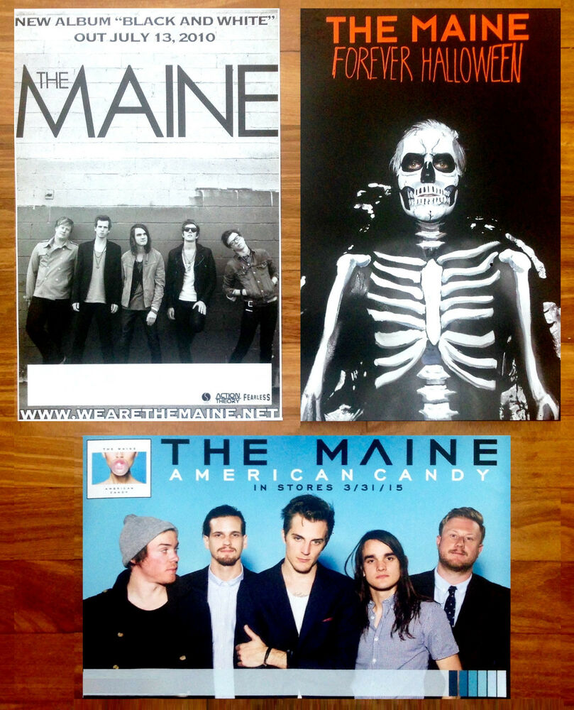 the maine american candy | forever halloween | black & white 3 rare