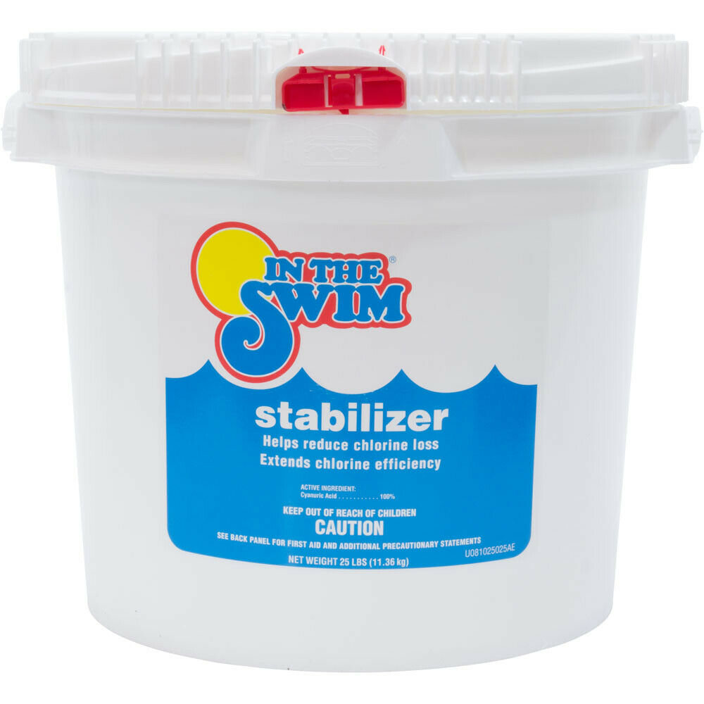 stabilizer acid conditioner for swimming pool chlorine water 25 lbs ebay