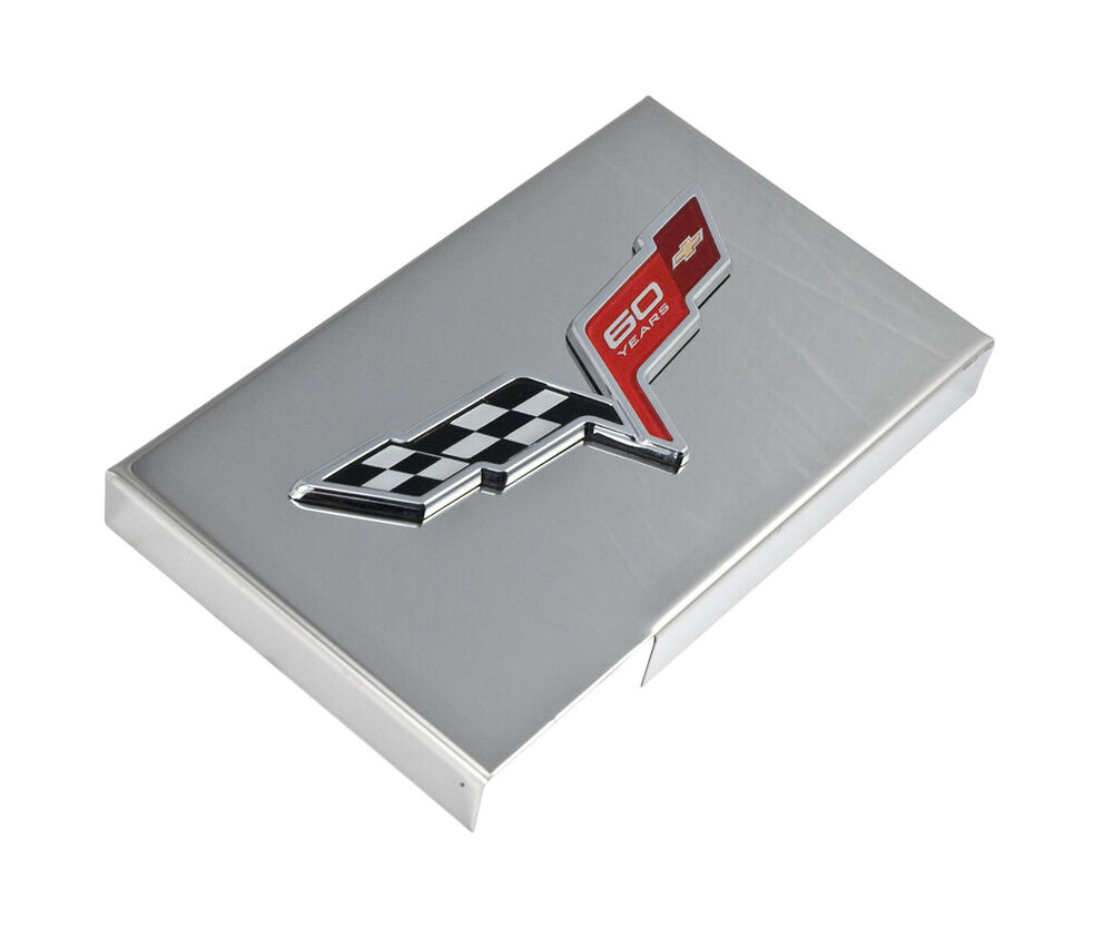 2013 corvette c6 polished stainless fuse box cover w gm. Black Bedroom Furniture Sets. Home Design Ideas