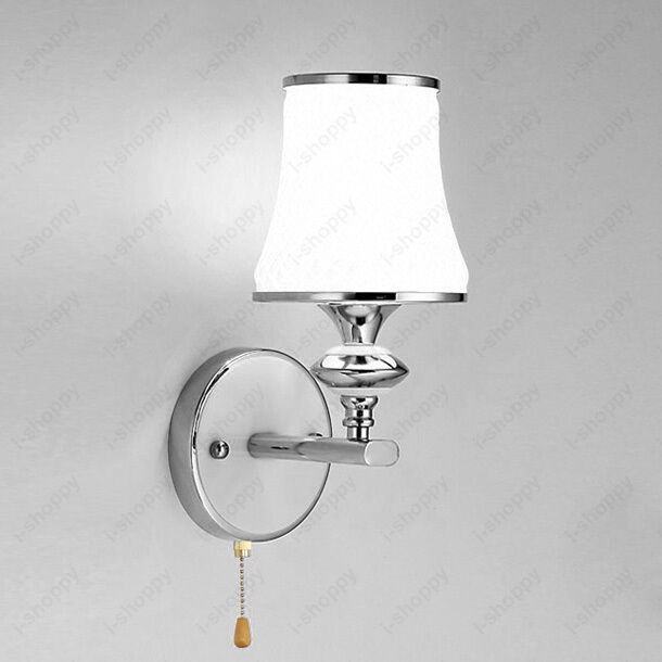Wall Sconces With Pull Switches : 3W LED Wall Sconce Light Bulb Fixture Pull Switch Lamp Bedroom Vestibule Hallway eBay