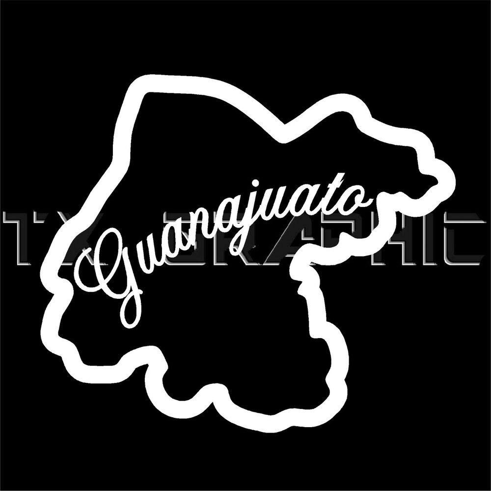 Guanajuato Mexico State Vinyl Decal Gto Sticker Window