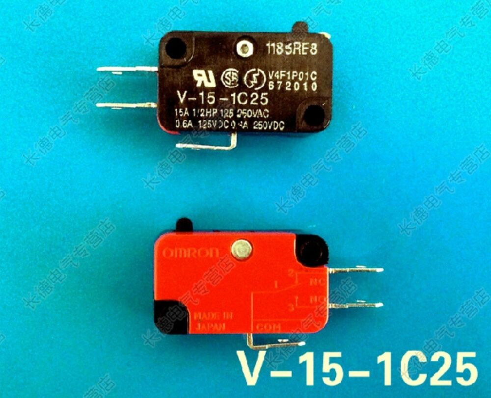 5pcs Micro Switch Basic Snap Action Switch 15a V 15 1c25