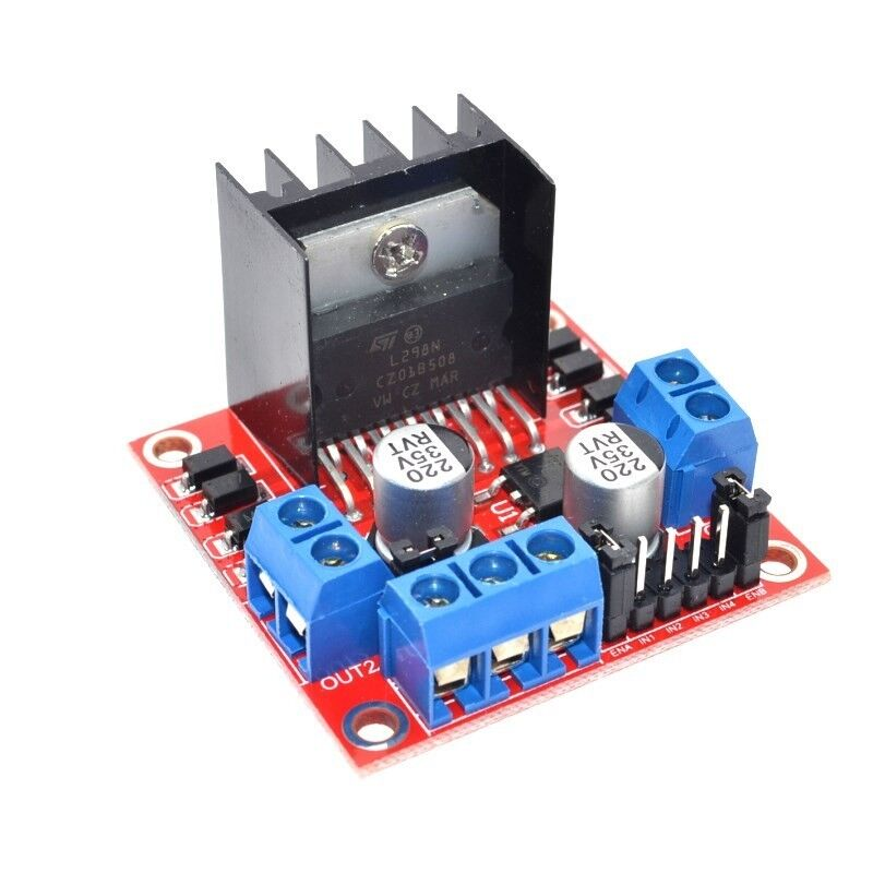 New L298n Dc Stepper Motor Driver Module Dual H Bridge