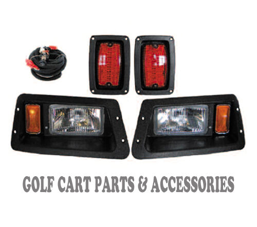 Golf Cart Headlights : Yamaha g golf cart headlight tail light kit