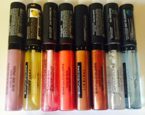 SINFUL COLORS LIP GLOSS BRAND NEW **CHOOSE SHADE**