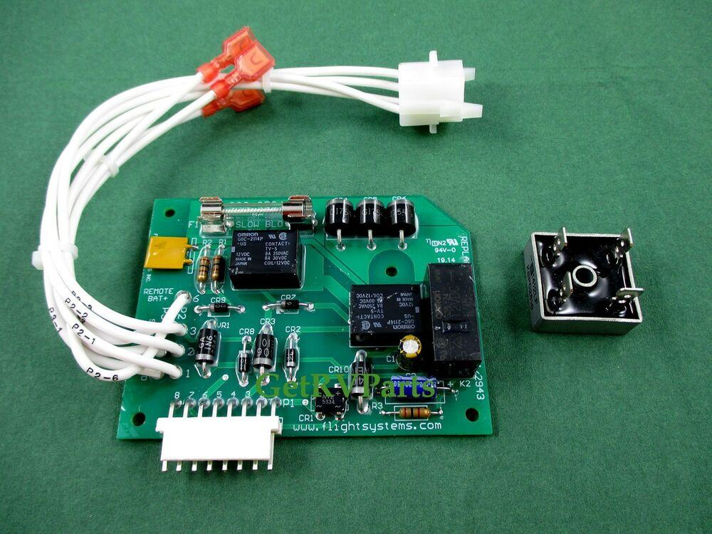 Onan Aftermarket Bge  Bgel  Nhe  Nhel Generator Circuit Board By Flight Systems