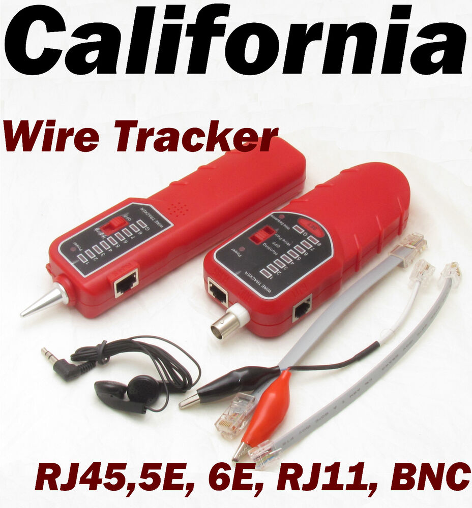 Wire Coaxial Cable Tracking Network Tester Line Rj45 Rj11