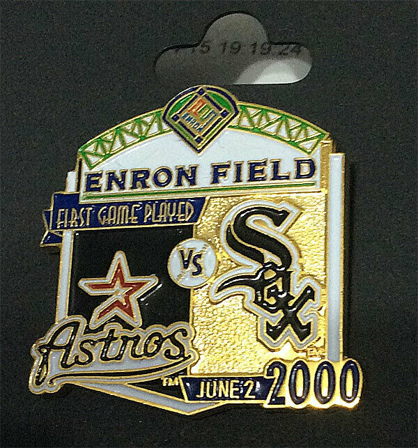 Chicago White Sox Amp Houston Astros First Game Played Enron
