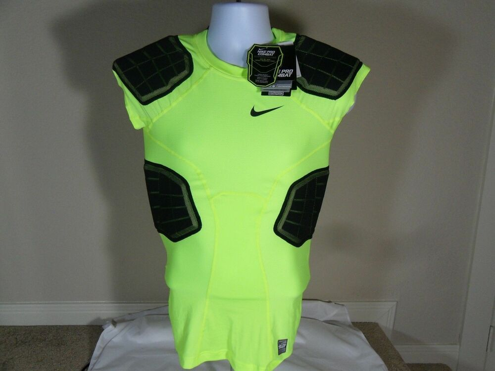 New Mens Nike Pro Combat Hyperstrong 3.0 Paded Football ...