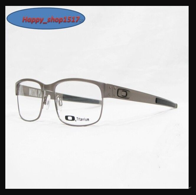 Metal Eyeglass Frame Materials : Eyeglass Frame-Oakley Metal Plate OX5038-0355 OX5038-0655 ...