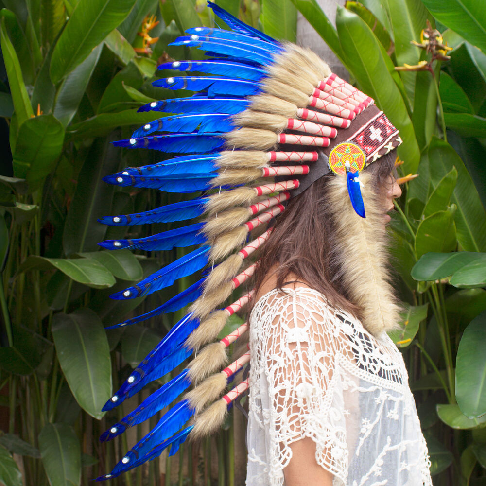SALE PRICE!! Long Native American Indian style Feather ...