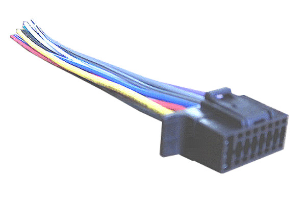 wiring harness for sony cdx gt270mp cdxgt270mp car stereo. Black Bedroom Furniture Sets. Home Design Ideas