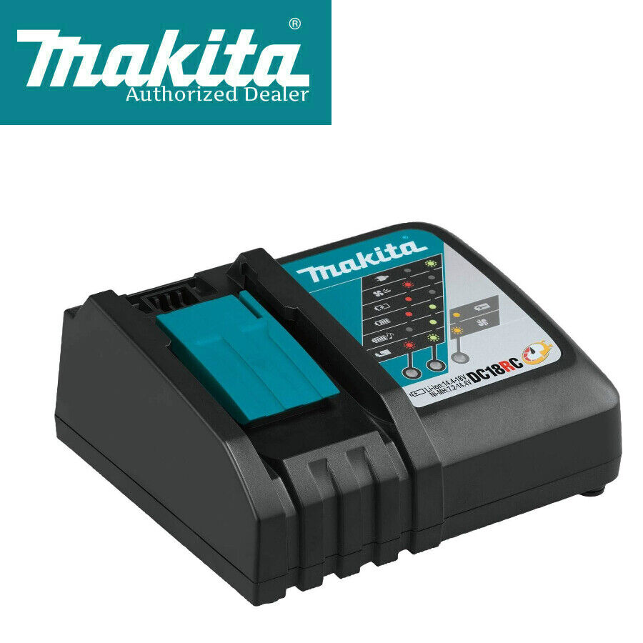 Makita Dc18rc Rapid Fast Lithium Ion Battery Charger New W Factory Warranty Ebay